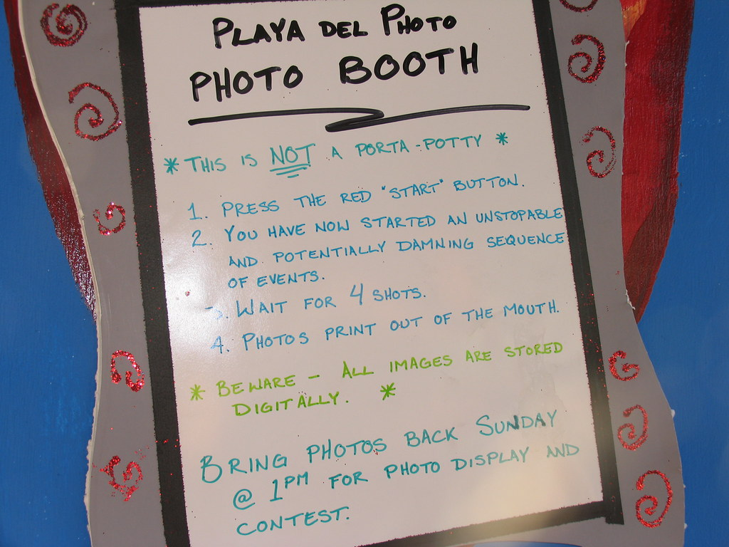 Photo Booth Rules The Amusing Rules For The Photo Booth