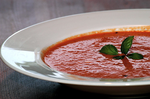 tomato basil soup | I love this soup. I probably ate it thre ...