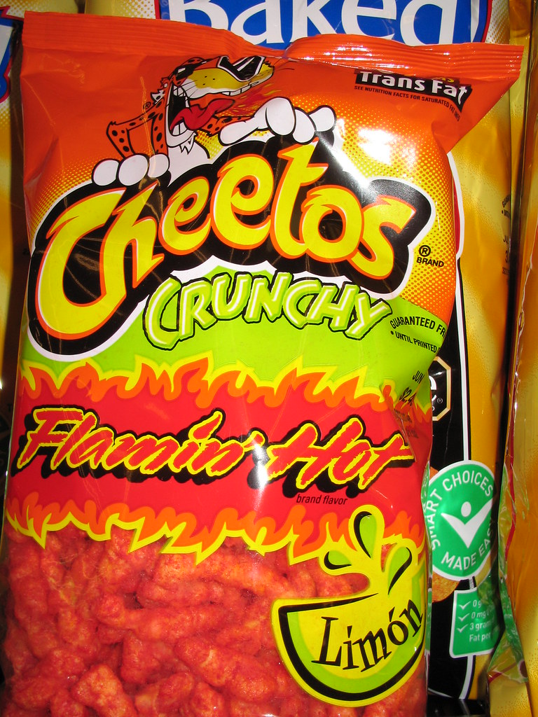 cheetos flaming hot cheetos limon is this aimed at the