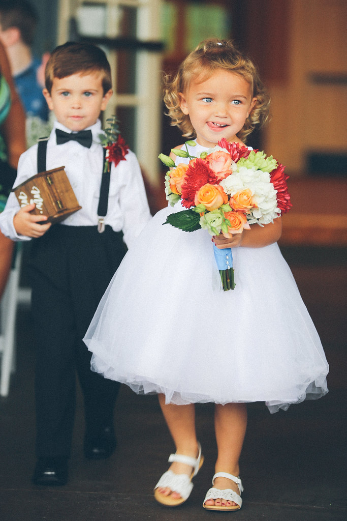Bryce Lafoon Photography l Flower Girl and Ring Bearer