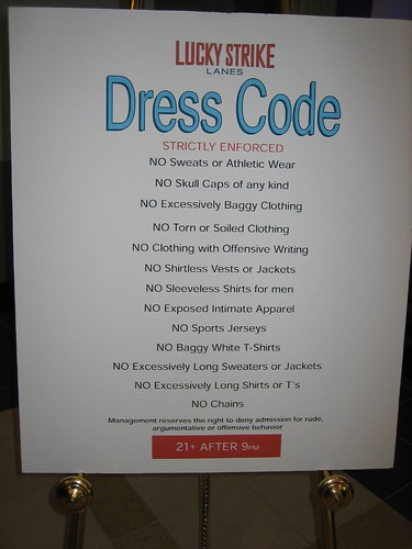 Dress Code For The Conga Room In L A Live