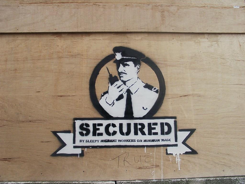 Resultado de imagen para secured Banksy liverpool