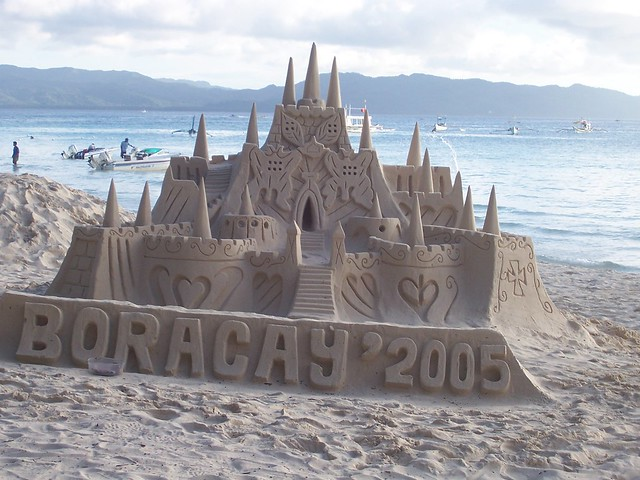 Boracay my home is my castle build your own flickr for Build your own castle home