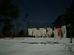 Being Very Very Frugal Laundry Drying In Winter | by Tim Somero