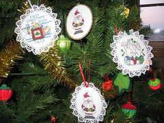 Cross-stitch Ornaments