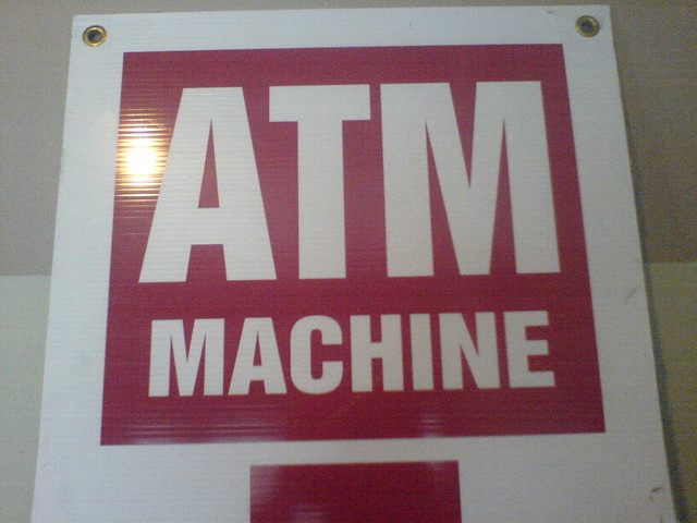 what does atm machine stand for