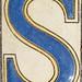NOLA alphabet S