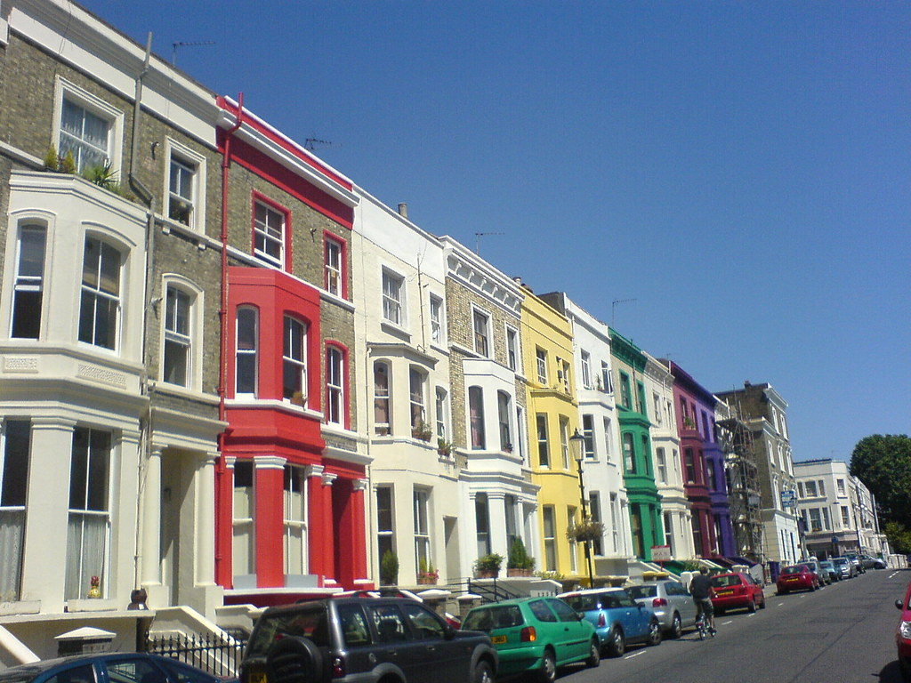 notting hill gate houses and people london july 2006 flickr. Black Bedroom Furniture Sets. Home Design Ideas