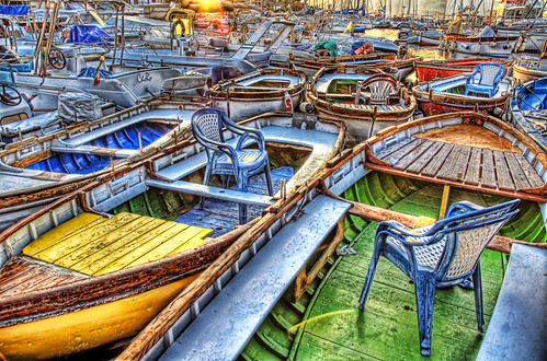 Chairs in Boats | by Stuck in Customs