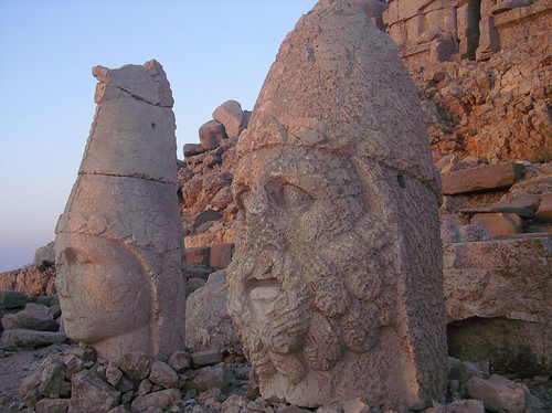 first lights on Nemrut | by borderlys