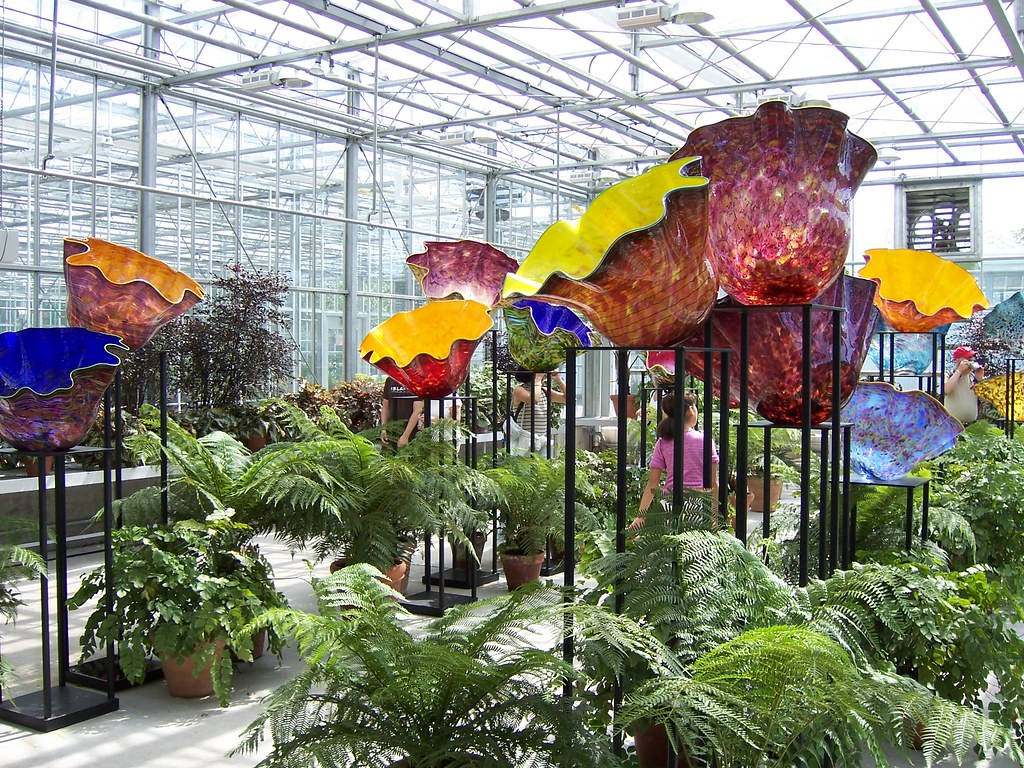 Chihuly Exhibit New York Botanical Garden Phillip Merritt Flickr