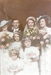 Wedding of Dorothy Lilian Butcher to Richard May1936 | by AnglersRest