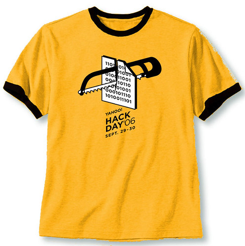Hack Day shirt (staff) | by mlaaker
