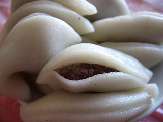 Crescent moons with red-bean filling  - Shangzhi | by Alexandra Moss