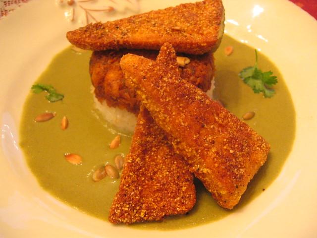 chile_cornmeal_crusted_tofu | Cornmeal Chile Crusted Tofu wi ...