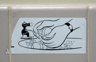 Wash your hands sticker | by Marshall Astor - Food Fetishist