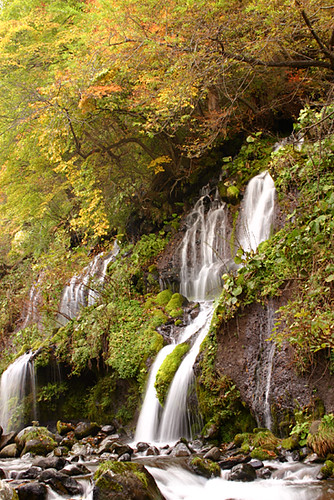 waterfall in autumn color | by * Yumi *