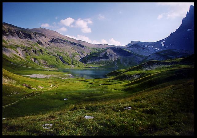Lac D Anterne En Haute Savoie En Camping Car