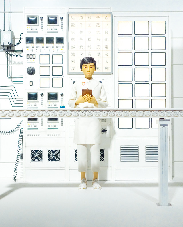 isle of dogs exhibition - lady scientist