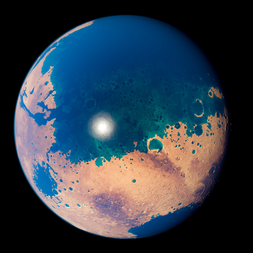 Mars with Oceans | Mar...