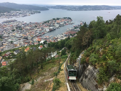 Bergen funicular ( Fløibanen) | by fred pipes