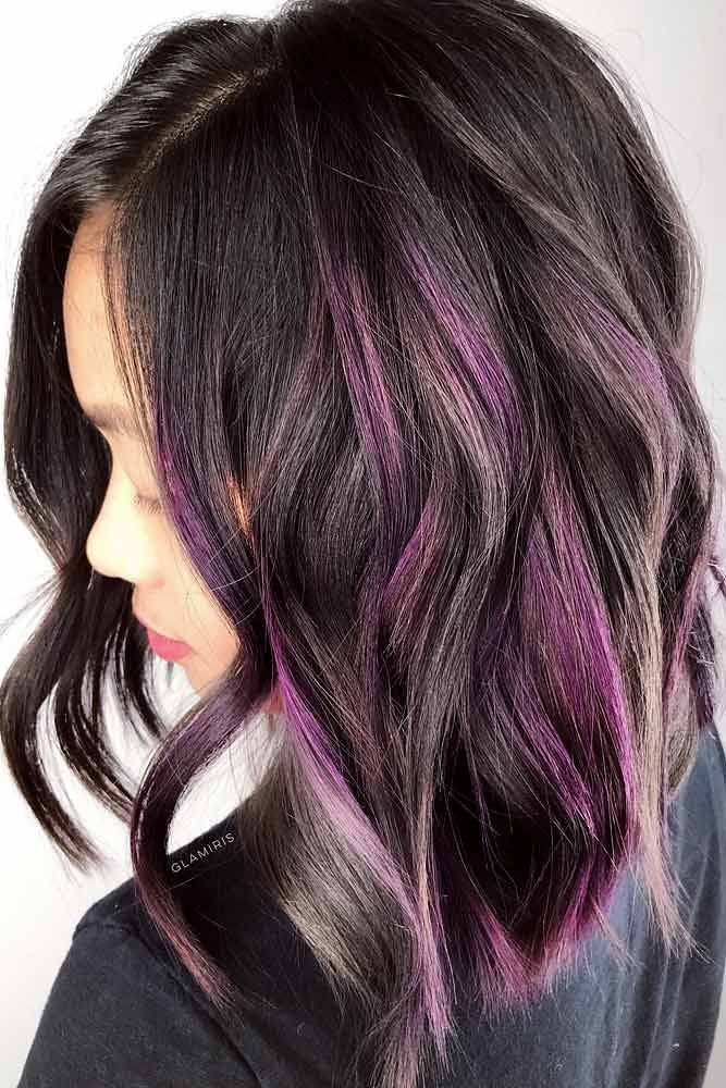 Hair Color 2017 2018 Pastel Purple And Grey Highlights Flickr