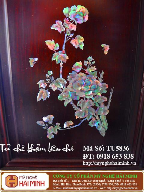 TU5836s Tu Che Kham Lien Chi do go my nghe hai minh