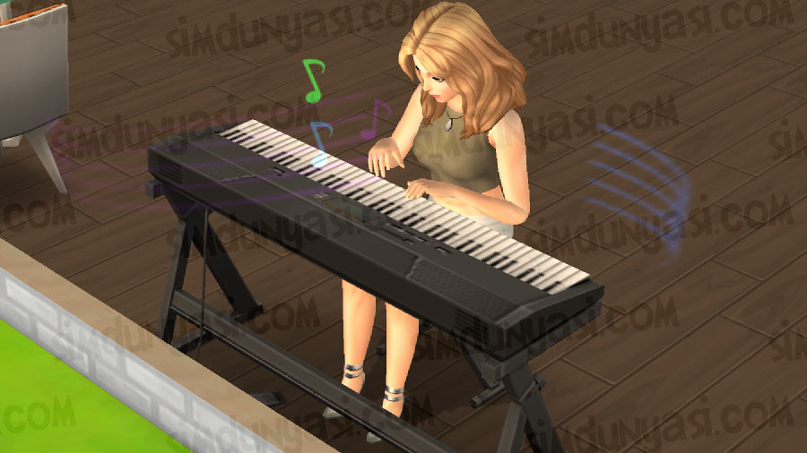 The Sims Mobile Piano Hobby Heirloom Maestro's Grand Piano (Piyano Hobisi - Maestro'nun Kuyruklu Piyanosu Yadigarı Hot Tub Skin Texture Bug Sıcacık Küvet Jakuzi Hatası 5 Nisan 2018 Güncellemesi Updates