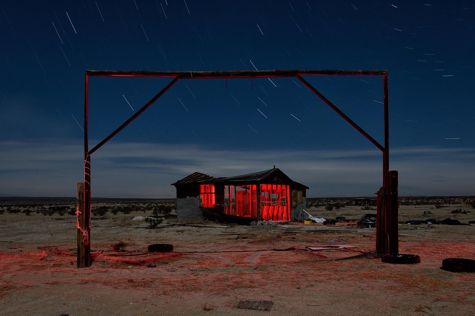 homestead. mojave desert, ca. 2018. | by eyetwist