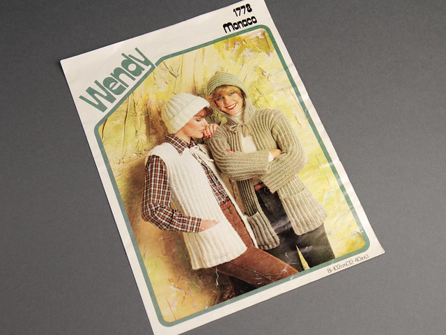 Wendy 1778 Women's Gilet, Hooded Jacket and Hat Pattern Leaflet