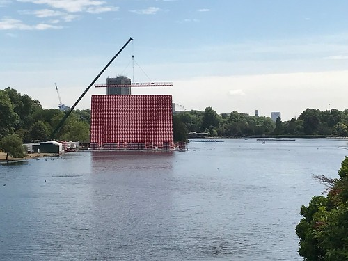 Christo sculpture in the Serpentine | by Matt From London