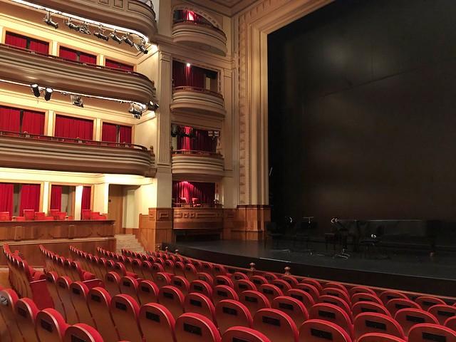 Interior del Teatro Benito Pérez Galdós de Las Palmas de Gran Canaria