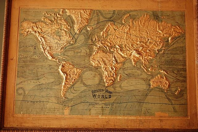 Relief Map Of The World.Oh What A Relief A Relief Map Of The World An Ancient M Flickr