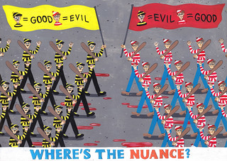 Where's the nuance? | by Brecht Vandenbroucke *