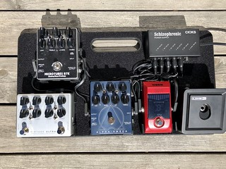 Maybe gone a bit Darkglass Electronics overboard? #bass | by bjelkeman