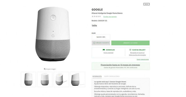 google-home-el-corte-ingles