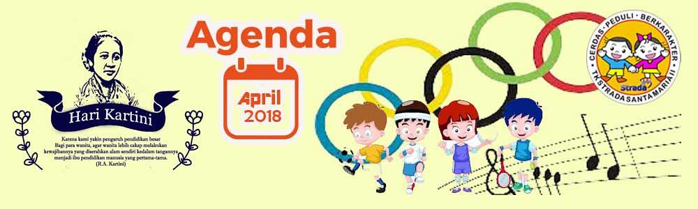Agenda April 2018