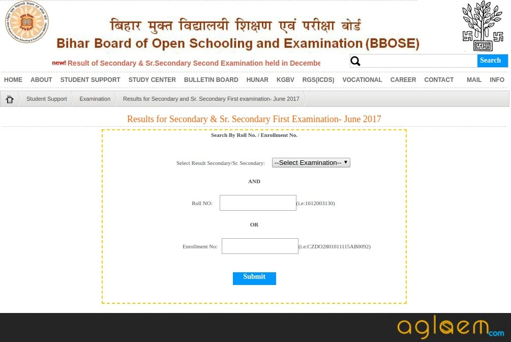 BBOSE 12th Result June 2018