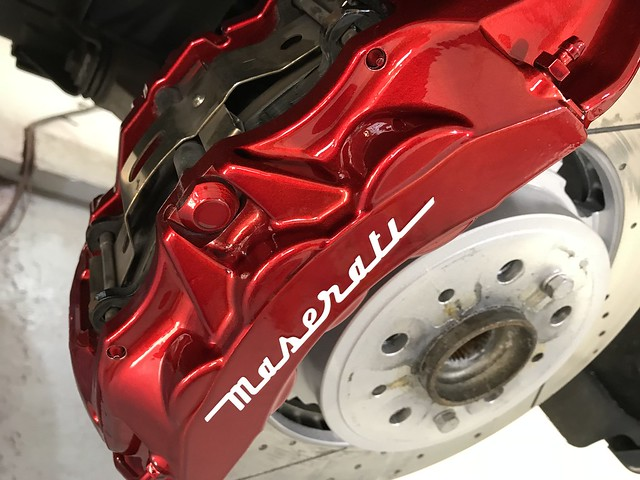 Anodized Red Calipers