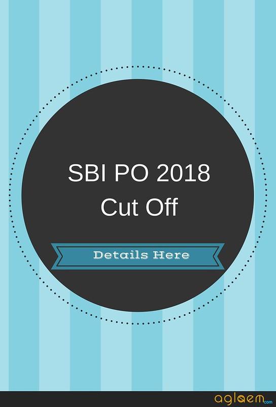 SBI PO 2018 Cut Off