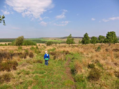 Leaving Birchen Edge