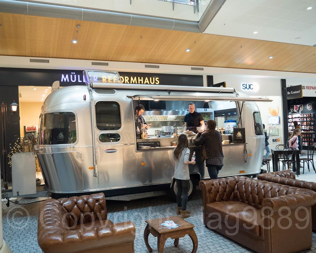 HERR BuNZLI Airstream Food Truck Emmen Center Lucerne Switzerland