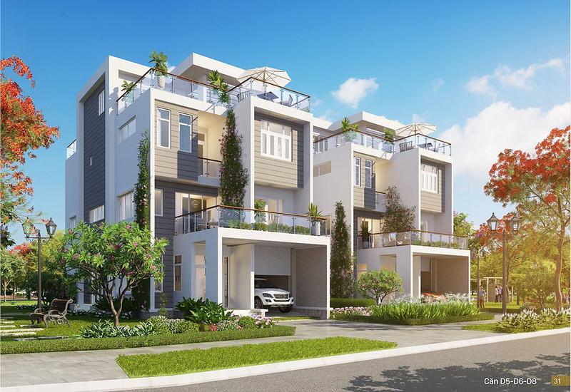 Mẫu thiết kế D4 biệt thự đơn lập Villa Park