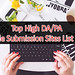 Top 170+ High DA PA Article Submission site - 2018