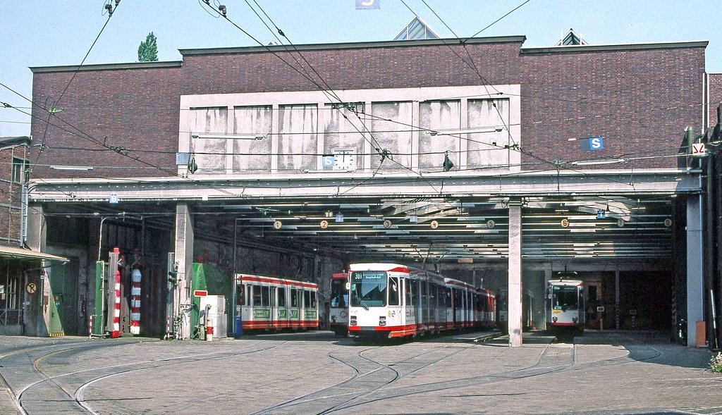 Bogestra Bochum Gelsenkirchen Gelsenkirchen Depot Flickr