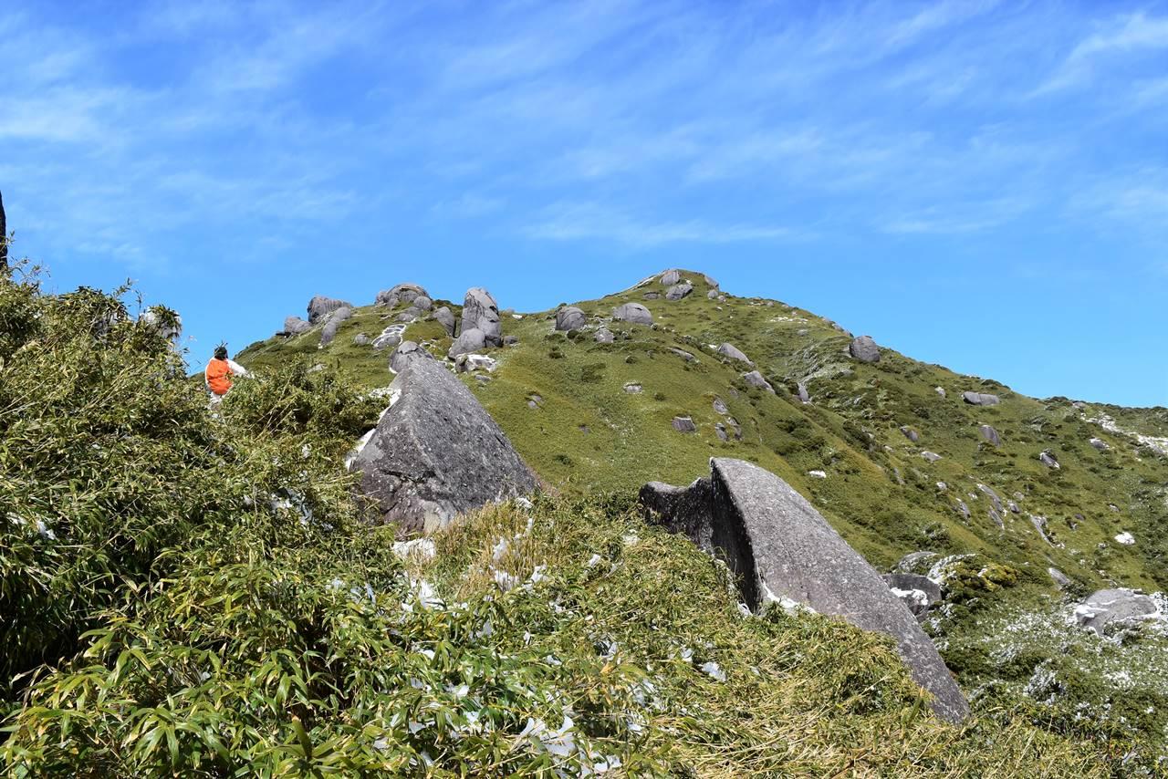 3月の宮之浦岳縦走登山