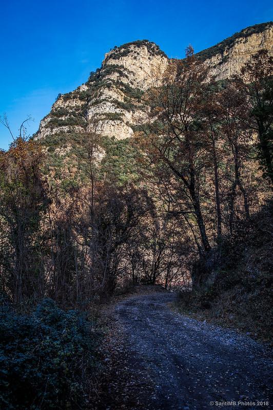 Vieja carretera a Sant Salvador de la Vedella