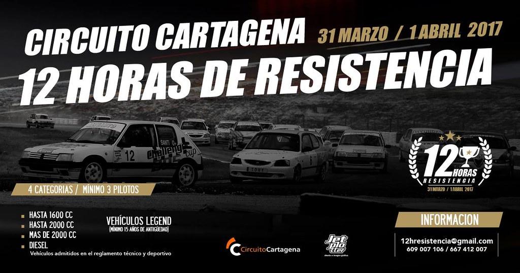Camino a las 12h de Cartagena