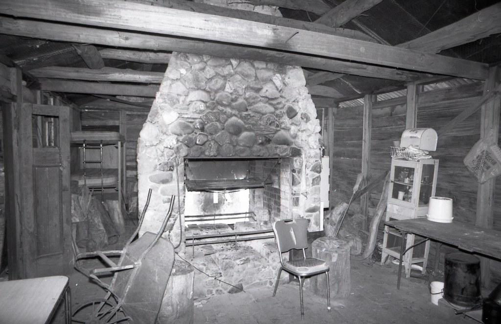 ... Ritchieu0027s Hut, Howqua  Alpine Huts 1994, Sheet 04 0091 | By Graeme  Butler