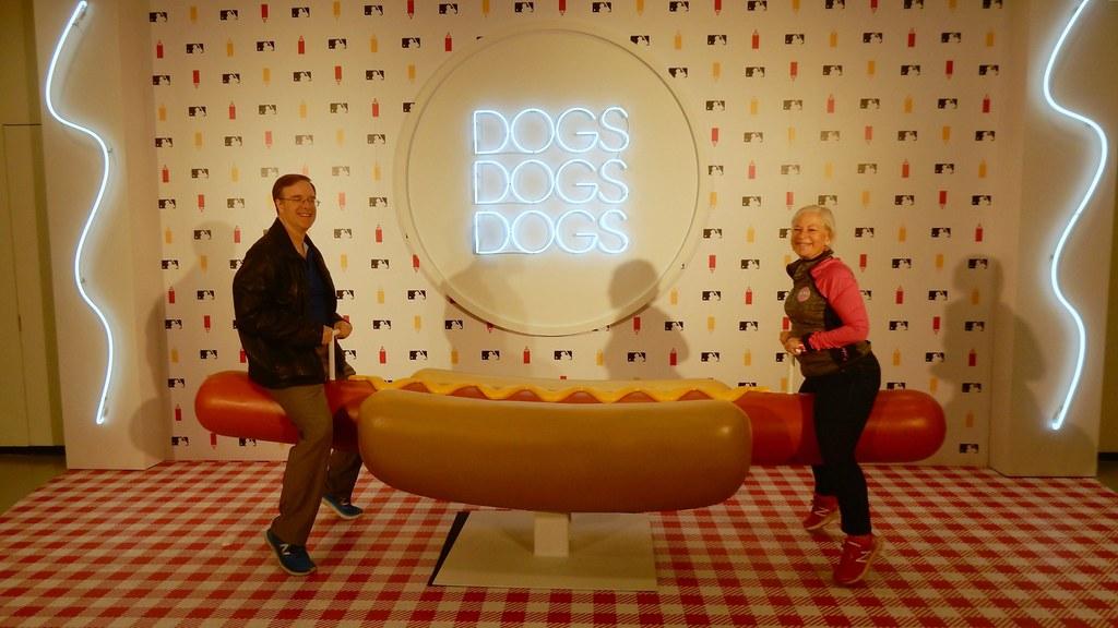 Hot Dog See Saw At Mlb Food Fest Slgckgc Flickr